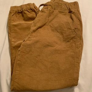 camel brown joggers